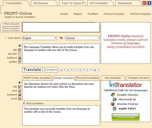 Promt-Online-Translator