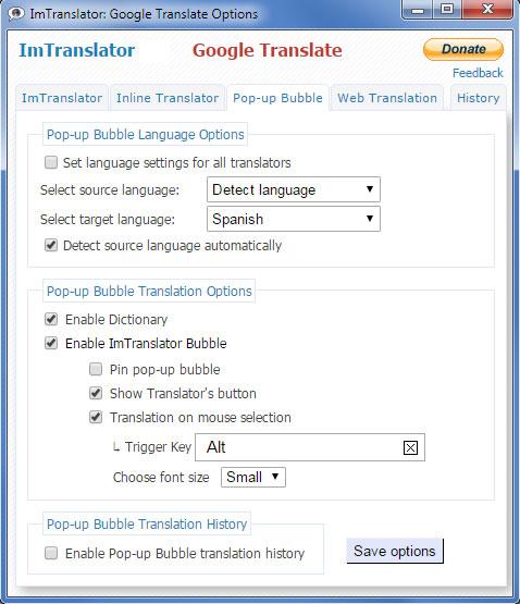Bubble-Options