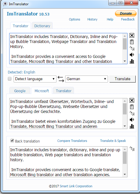 Chrome-MS-Translator