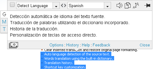 ImTranslator for Chrome | ImTranslator