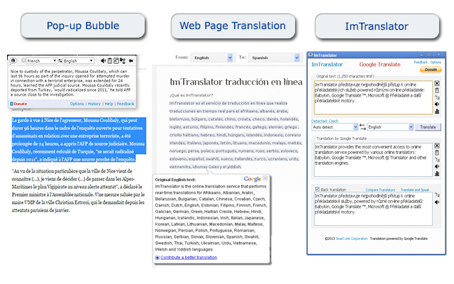 ImTranslator applications
