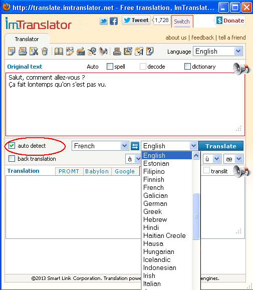 how to change firefox from spanish to english