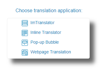 Chrome-Choose-Translation-Application