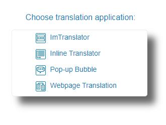 Chrome-Choose-Translation-Application