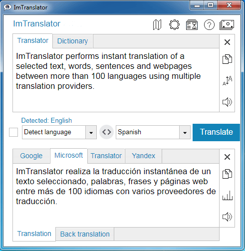 ImTranslator v  15 30 extension for Chrome | ImTranslator