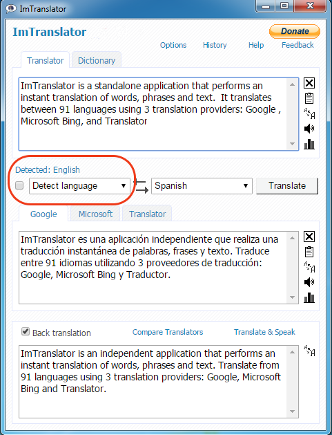 Chrome-ImTranslator-Detect-Language