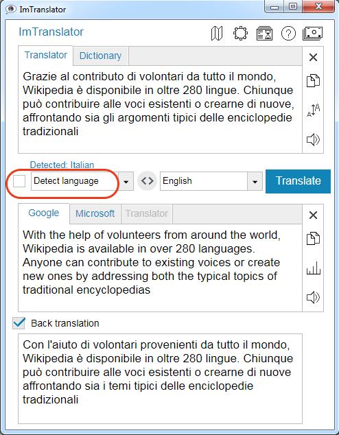 Chrome-ImTranslator-Detect-Language
