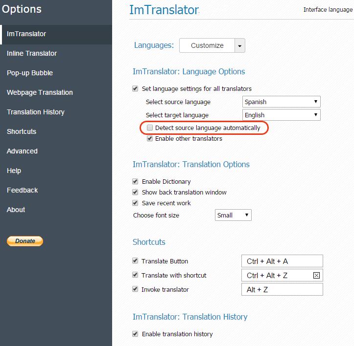 Chrome-ImTranslator-Options-Language-Detection-off