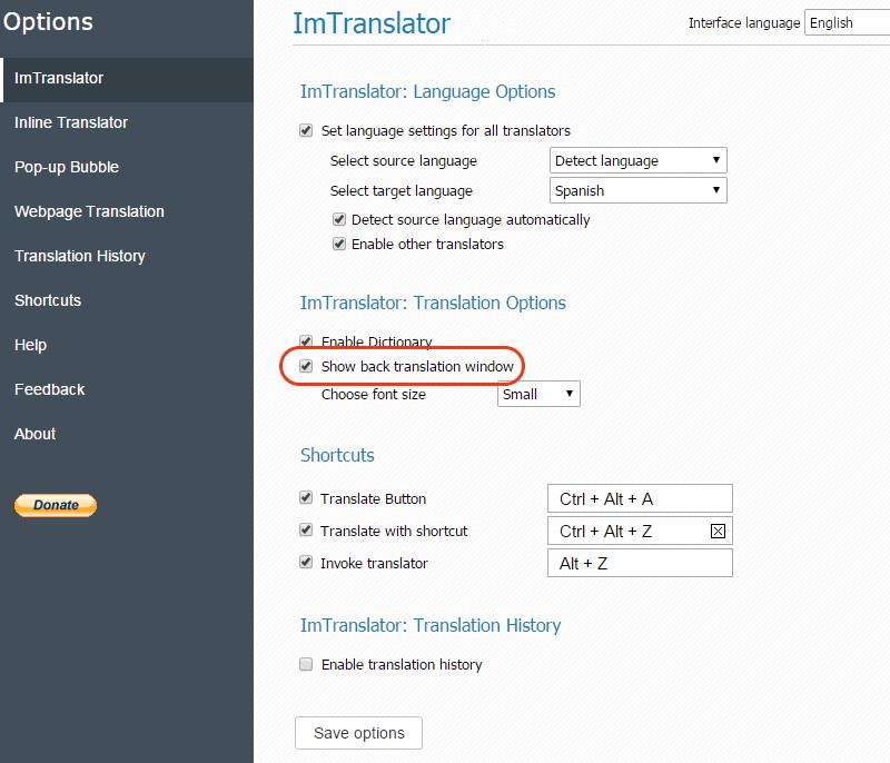 Chrome-ImTranslator-Show-Back-Translation