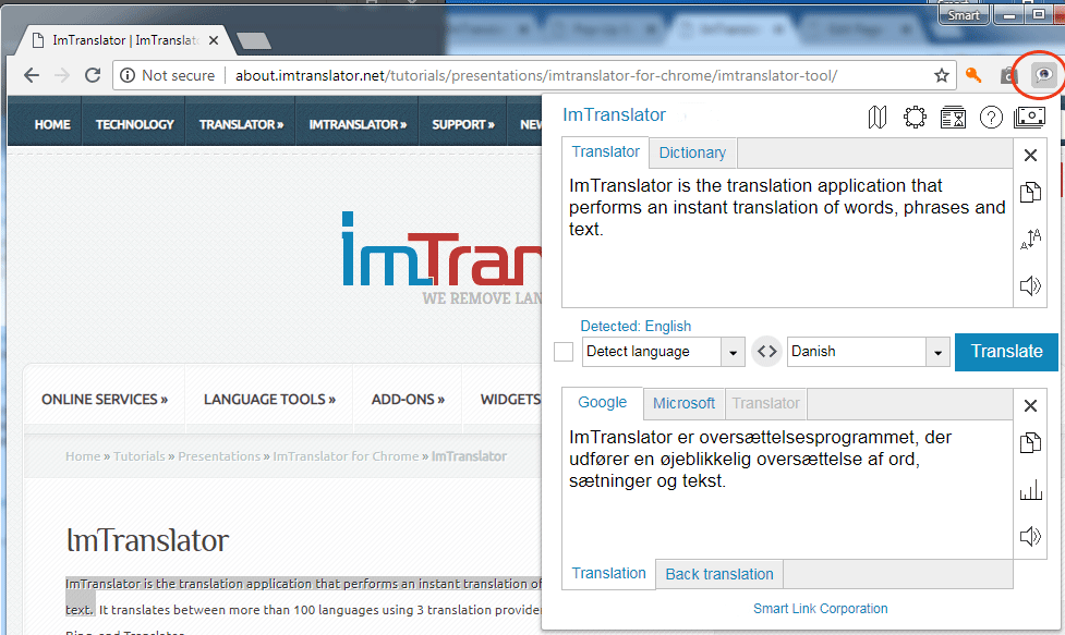 Chrome-ImTranslator-Toolbar-app