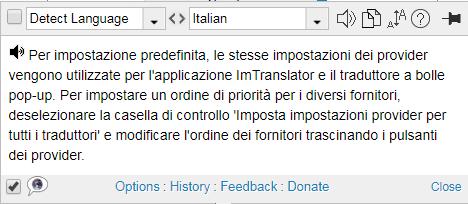 Pop-Up Bubble Translator | ImTranslator