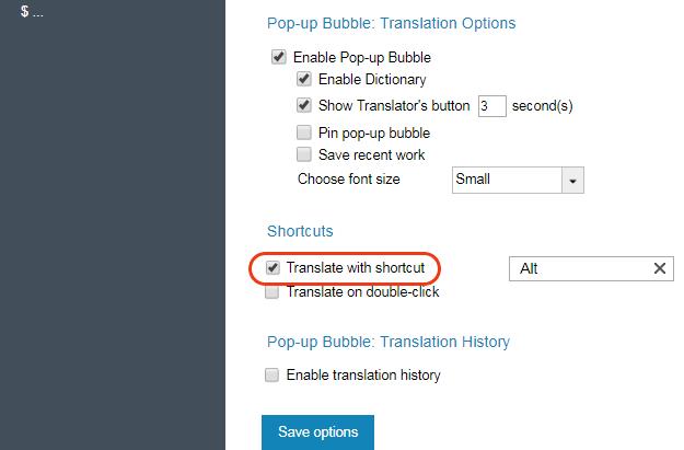 Bubble Translator: Translate with Shortcuts | ImTranslator