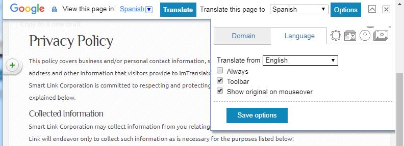 Chrome-Toolbar-Language-Options