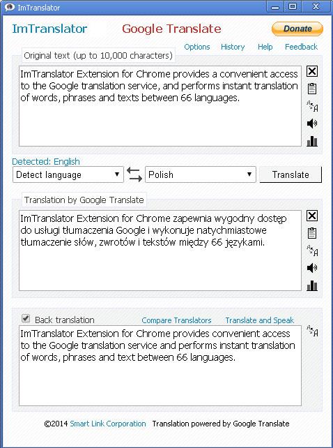 google translate portuguese to english