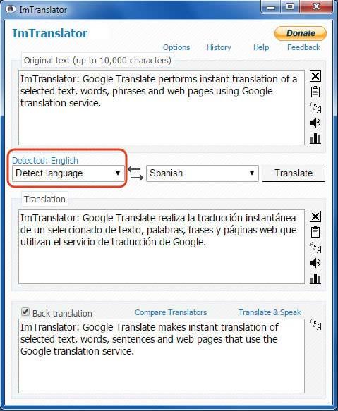 ImTranslator-Language-Detection