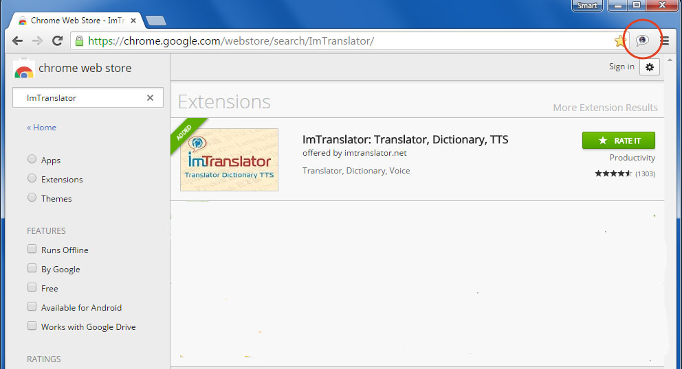 Download ImTranslator for Chrome | ImTranslator