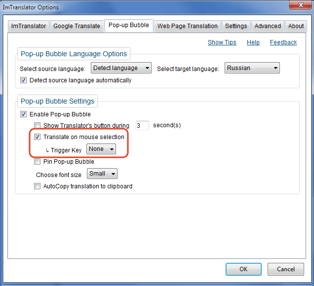 Firefox-Bubble-Options-Translate-Mouse-selection