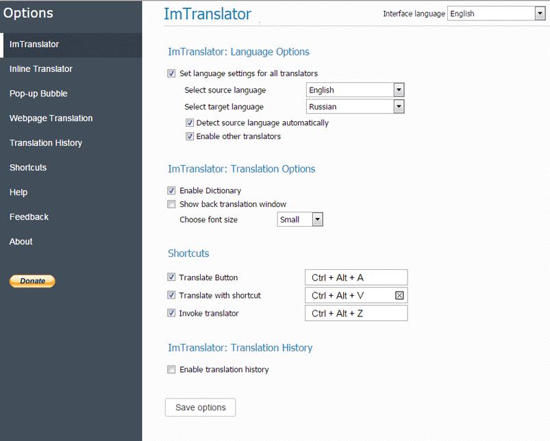 Opera-ImTranslator-Options