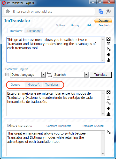 Opera-ImTranslator-Providers