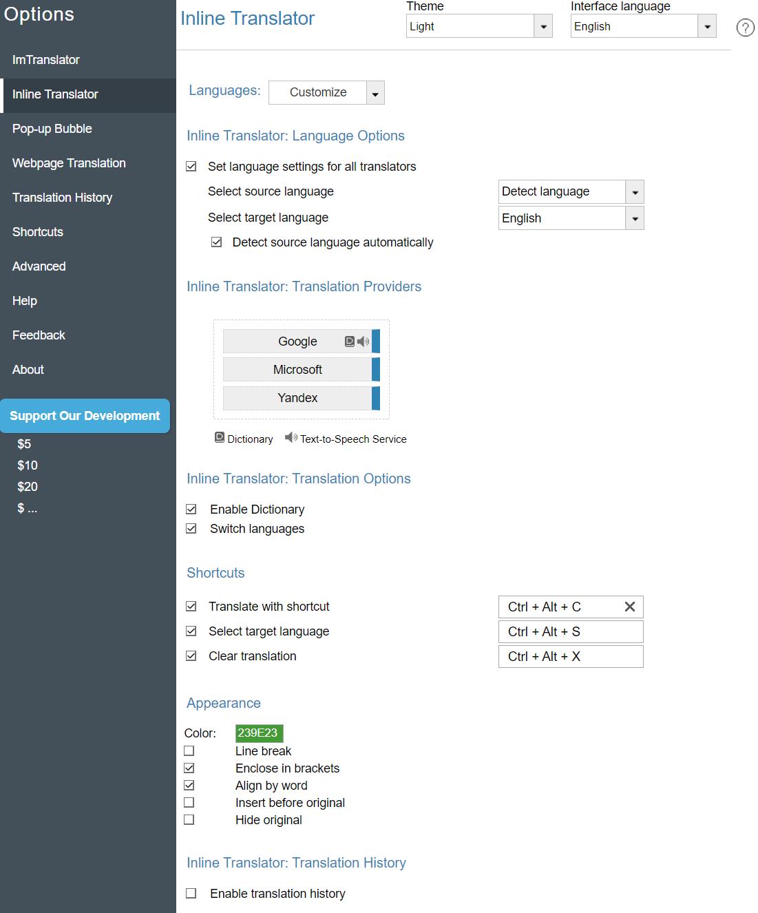 Opera-Options-Inline-Translator
