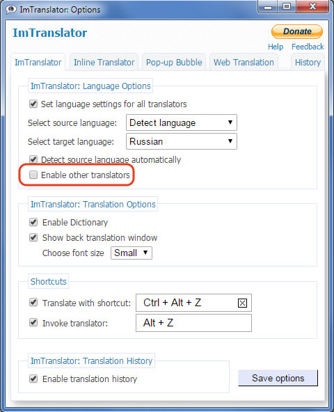 ImTranslator-Options-disable-translation-providers