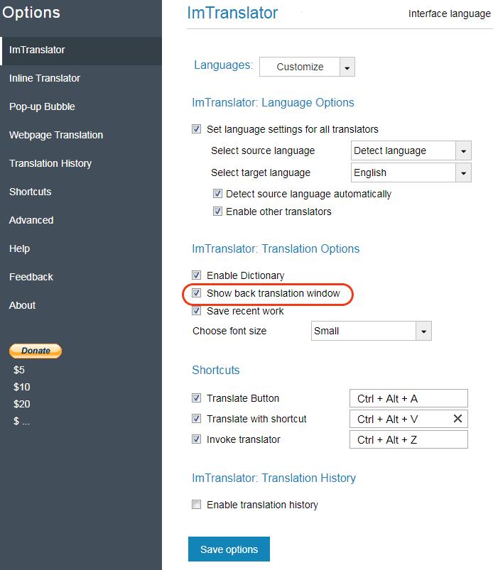 Opera-Options-ImTranslator-Back-Translator