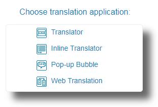 GT-Choose-Translation-application
