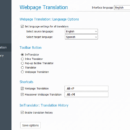 Visual Tutorial: Webpage Translation