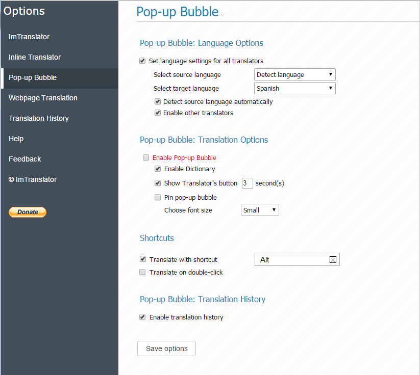 Pop-up-Bubble-Options-disable-popup