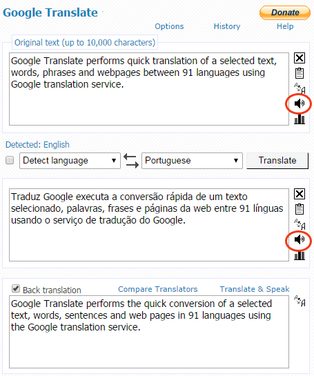 how to use google translate voice