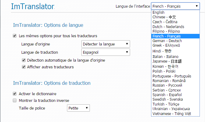 Chrome-Options-Localization