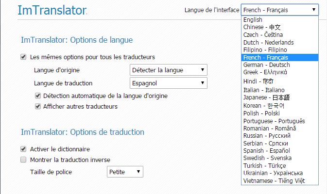 Chrome-Options-Localization