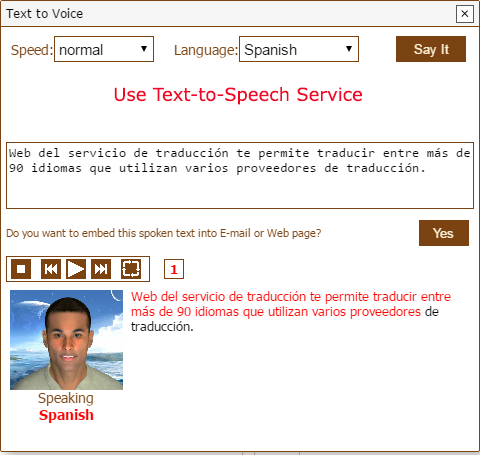 WebTranslation-TTS