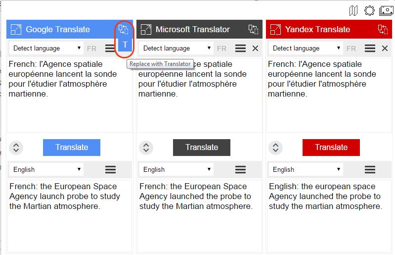 Translation-Comparison-Replace