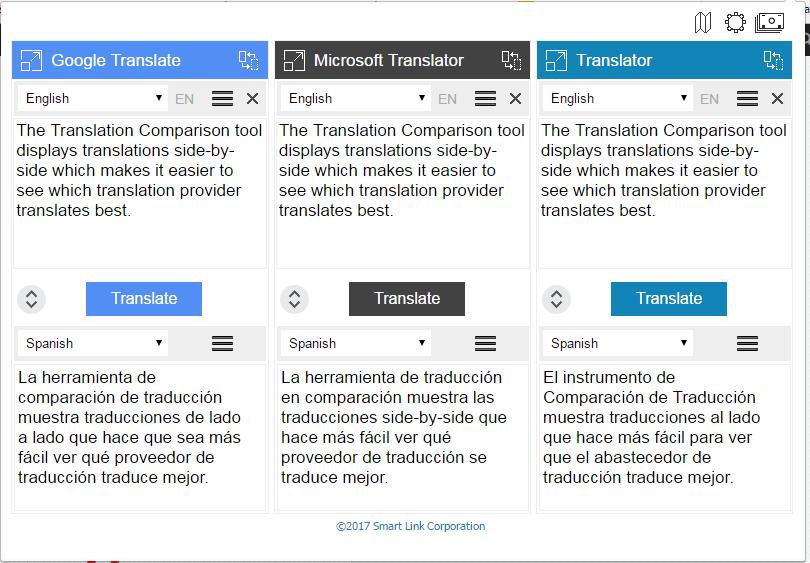 Translation-Comparison