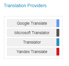 Translations-Comparison-Providers