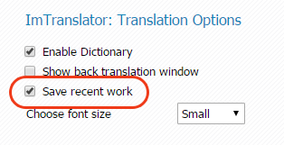 Chrome-ImTranslator-Save-Recent-Work