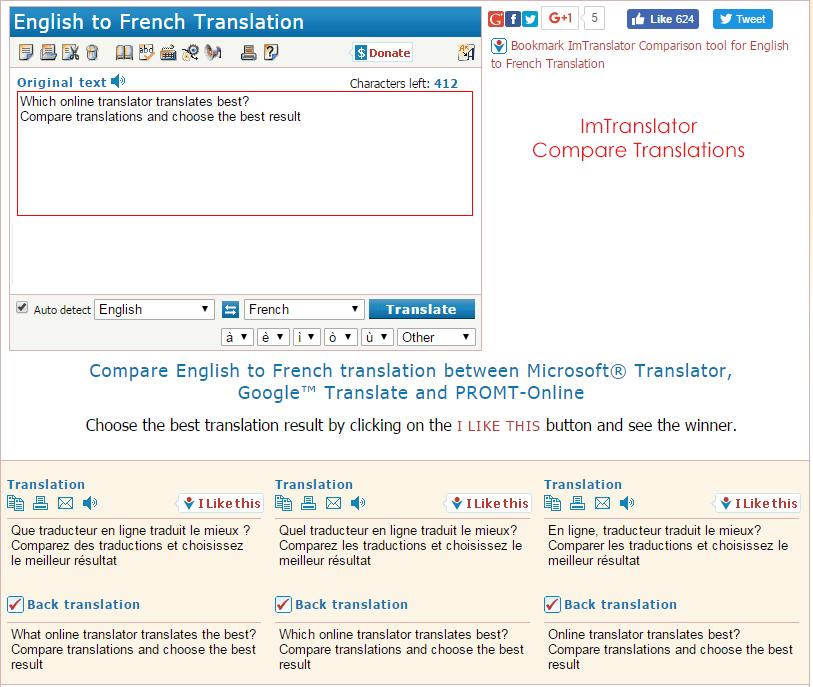 Compare-Translators