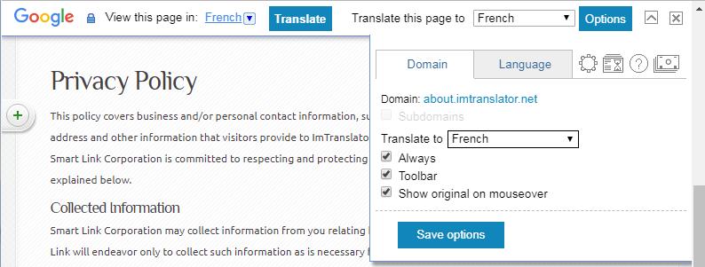 Chrome-Webpage-Translation-Domains