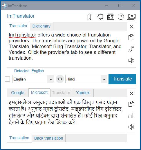 Chrome-ImTranslator-Translation-Providers